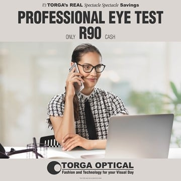 Picture of Eye Test for Just R90.00 Voucher